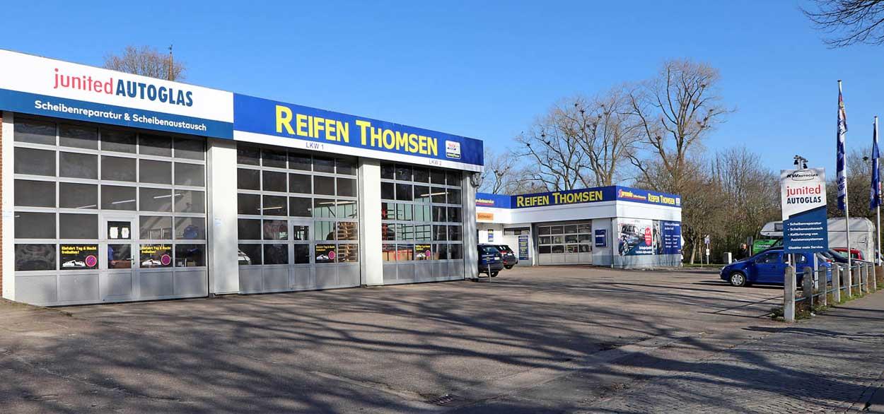 Standort KW Autoglas Flensburg